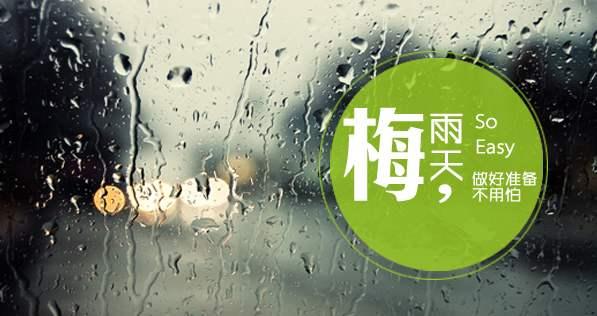梅雨季,对潮湿Say